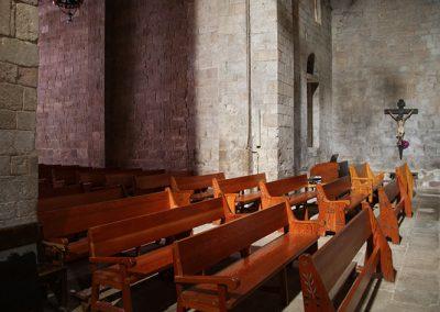Transsepte de l'església de Santa Maria de l'Estany