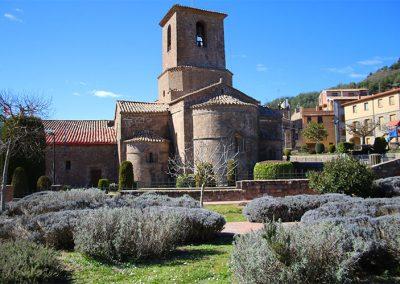 Capçalera de l'església de Santa Maria de l'Estany