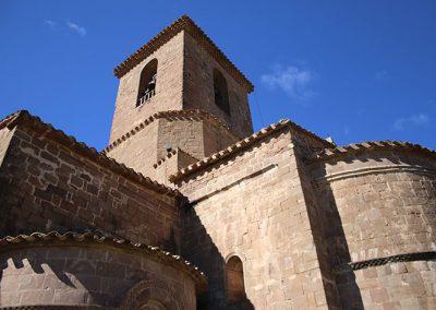 Campanar de l'església de Santa Maria de l'Estany