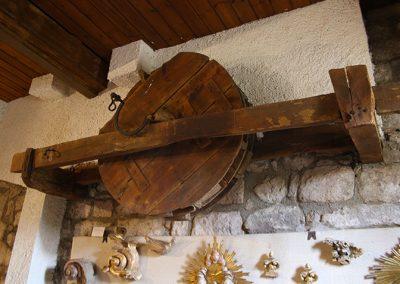 Matraca provinent de l'església de Santa Maria de l'Estany