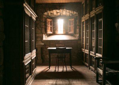Espai de l'arxiu del monestir de l'Estany