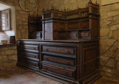 Moble de sagristia de l'església de Santa Maria de l'Estany