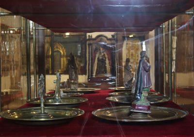 Bacines de l'exposició permanent del monestir de l'Estany