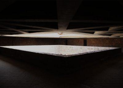 Espai del sobreclaustre del monestir de l'Estany