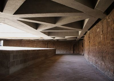 Galeria del sobreclaustre del monestir de l'Estany
